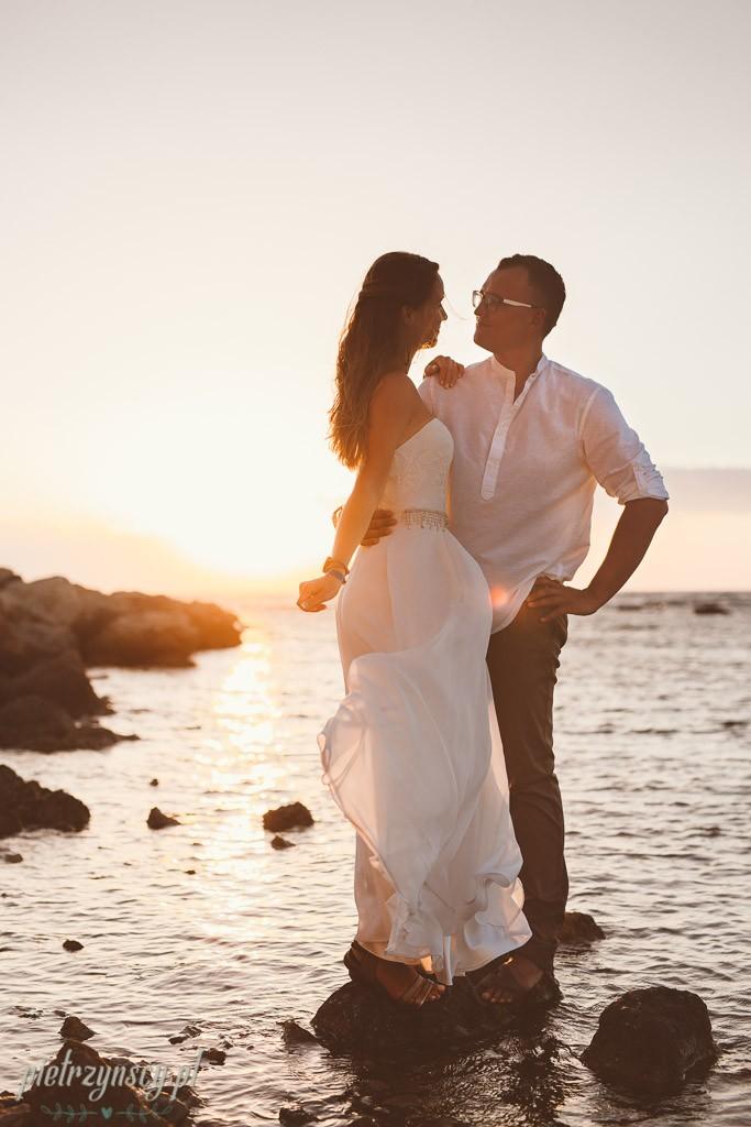 23, egzotyczna sesja ślubna, ślub na plaży, ślub Seszele
