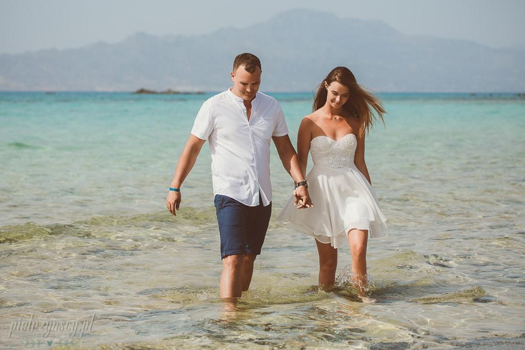 10, sesja ślubna na Malediwach, egzotyczna sesja poślubna, sesja fotograficzna na Santorini